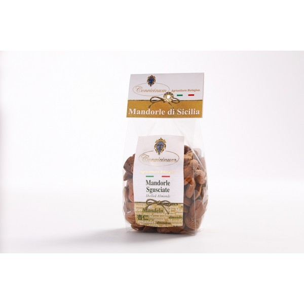 "Biological shelled Almonds ""Convicinum"" box 1 kg"