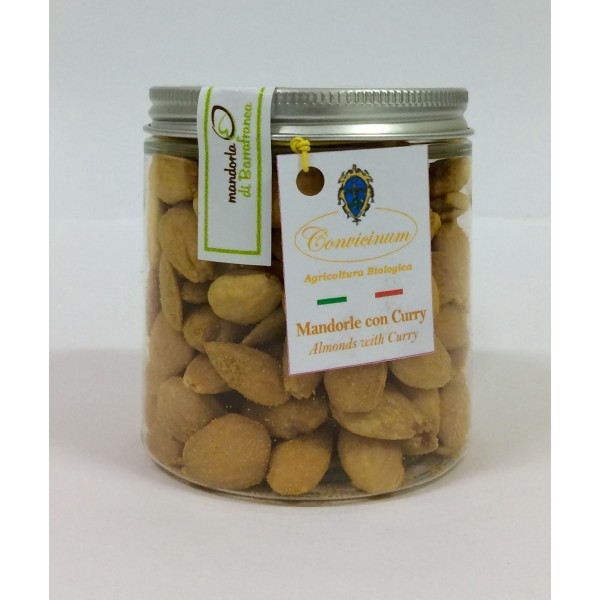 Almonds with Curry in PET jar