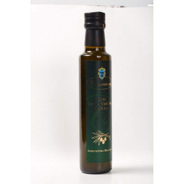 "Extra virgin olive oil ""CONVICINUM"" from organic farming 0,25 lt"
