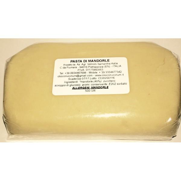 Pasta di mandorle 250 gr